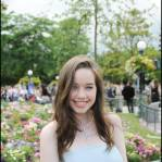 Anna Popplewell at the Paris premiere in Paris Disneyland