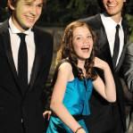 TOKYO - MAY 20: Actor William Moseley, actress Georgie Henley and actor Ben Barnes  attends
