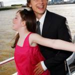 arrives on the red carpet to the UK Premiere of The Chronicles of Narnia - Prince Caspian at the O2 Dome in North Greenwich on June 19, 2008 in London, England.