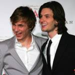 SYDNEY, AUSTRALIA - MAY 25:  William Moseley and Ben Barnes attends the premiere of