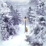 Concept Art by Henrik Tamm featured on a Christmas Card from Walden Media to Narniaweb +