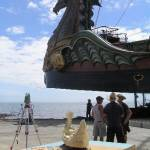 The Dawn Treader and its scale model -  Bayside Bulletin