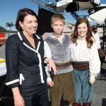 Premier Anna Blight with Will Poulter and Georgie Henley
