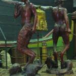 The Fauns and Beavers statue - myartismylife