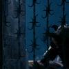 A minotaur breaks open the gates