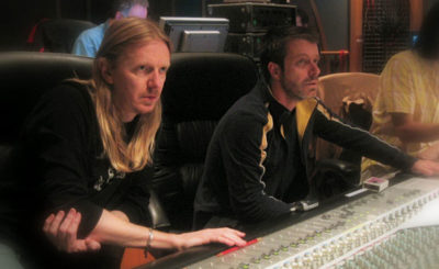 Andrew Adamson and Harry Gregson-Williams