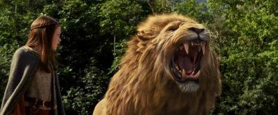 Aslan roars
