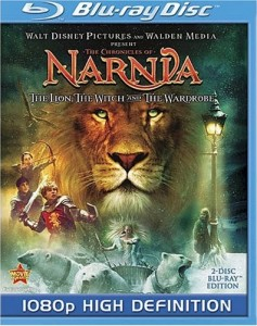 The Lion, the Witch, and the Wardrobe Blu-ray Disc