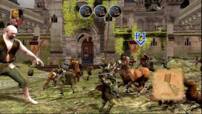 Screencap from Prince Caspian video game