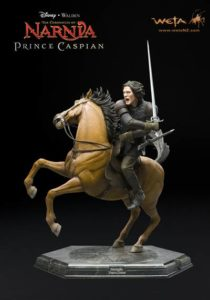 Caspian on Steed - Weta