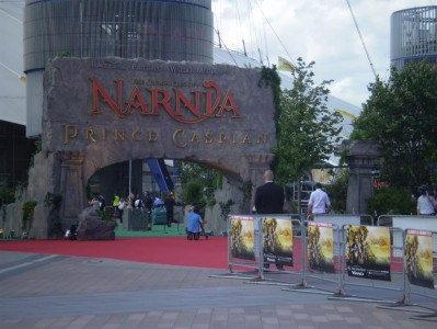 The Red Carpet at the Prince Caspian premiere in London