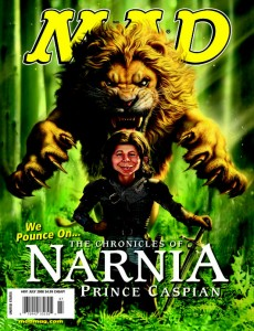 �prince caspian� spoofed in mad magazine narniaweb