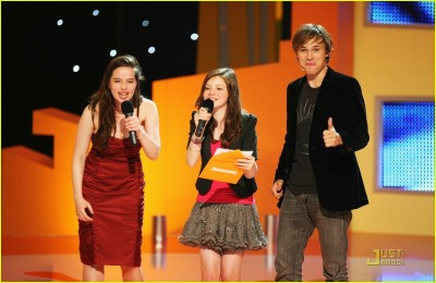 Will, Anna, and Georgie at the UK Kids' Choice Awards