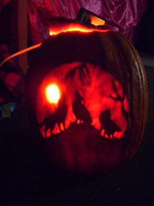 Menelve's pumpkin - Winner of the 2008 Pumpkin Carving Contest