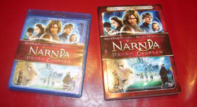 Prince Caspian on Blu-ray and DVD