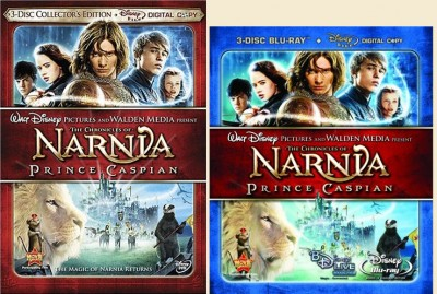 Prince Caspian on DVD and Blu-ray