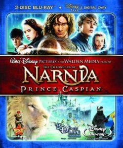 Prince Caspian 3-disc Blu-ray