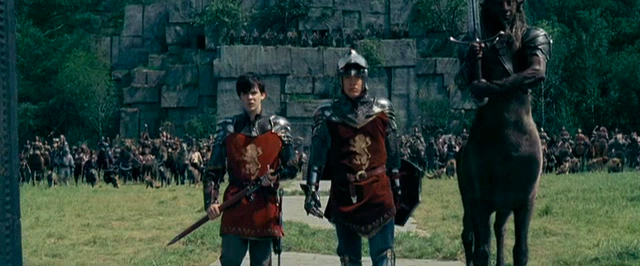 Screenshot from the Prince Caspian Digital Copy