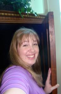 Me entering the Wardrobe!