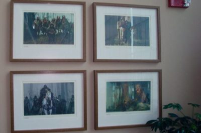 The concept art of Prince Caspian.