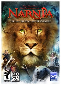 The Lion, the Witch and the Wardrobe Video Game Cover