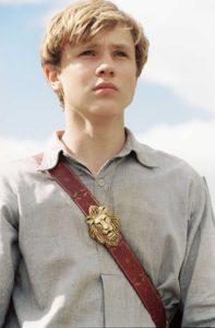 William as Peter Pevensie