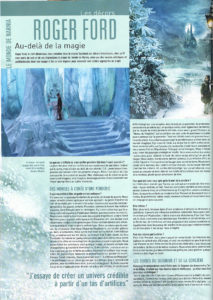 L'Ecran Fantastique interview with Roger Ford - Page 1
