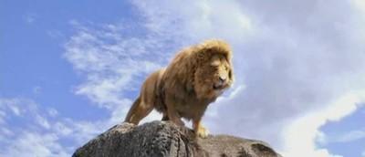 Aslan prepares to roar