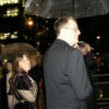 Richard Taylor and WETA co-founder & partner Tania Rodger on the way to the party