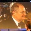 Jim Broadbent on Video Screen
