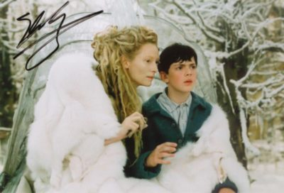 Signed Picture of Edmund and the White Witch