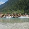 Water Splashing Beneath Bridge - Flavius