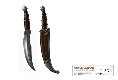 Nikabrik's Dagger Concept Art