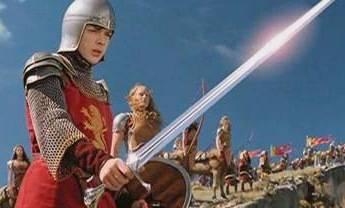 Edmund at the battle