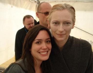 Carla and Tilda Swinton