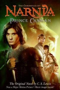 Prince Caspian Book Cover
