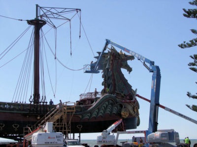 Mysterious Rigging Added to Dawn Treader's Mast