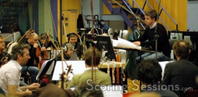 Scoring Session for Prince Caspian