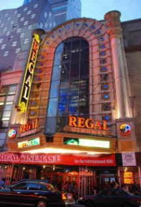 Regal E-Walk Cinema in Times Square