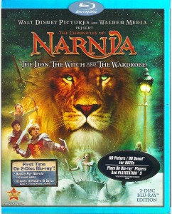 The Lion, the Witch and the Wardrobe Blu-ray Cover