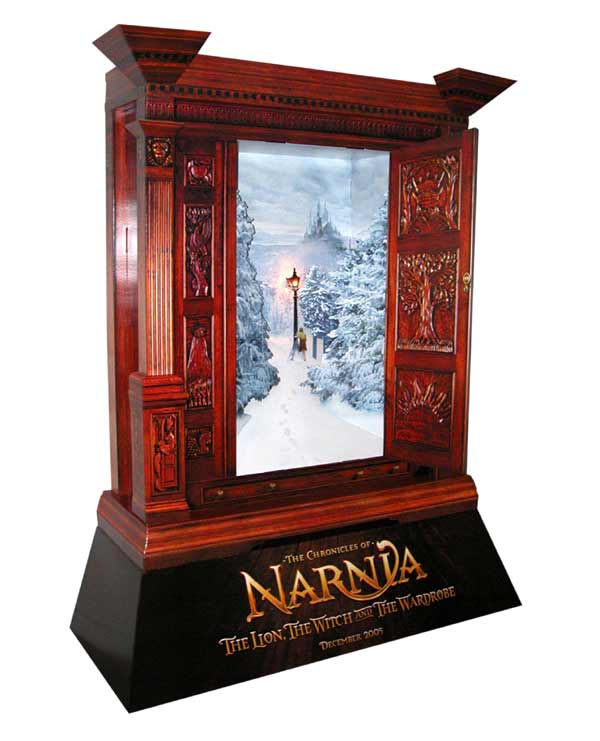 Exclusive Narnia Movie Poster Stand Narniaweb