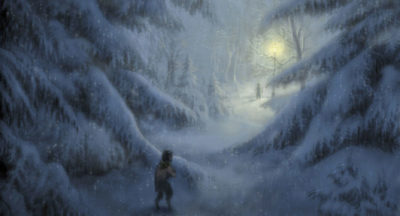 Mr. Tumnus in the Woods Concept Art