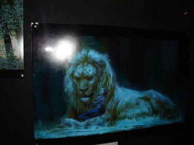 Lucy and Aslan Concept Art