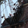 Believe that is Drinian looking over the side of the ship ~ Tamara
