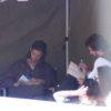 Ben Studying a Book... VDT perhaps?  ~Tamara