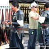 Dawn Treader Crew putting on their armor ~ Kerrie Gurney