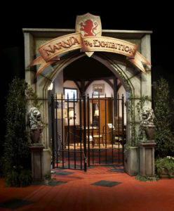 Front gate of the Narnia exhibit - HMNS Sugarland