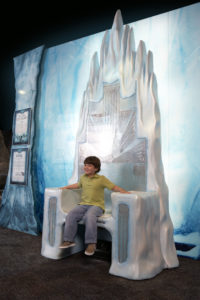 The throne of the White Witch - HMNS Sugarland