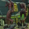 This is the statue of the two fauns and the bell