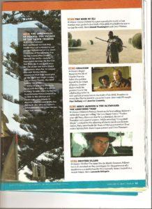 World Magazine on the Dawn Treader - Jan. 2010